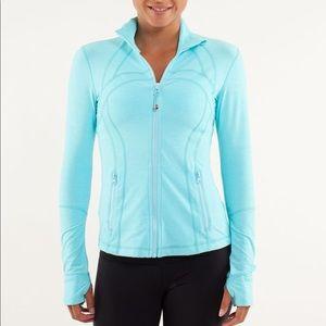 Lululemon Define Jacket Heathered Angel Blue